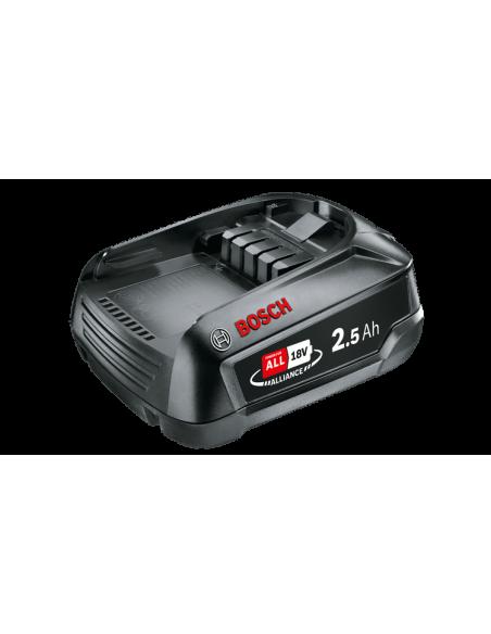 Batterie Bosch gamme verte 18V 2.5Ah Li-Ion PBA18/2.5