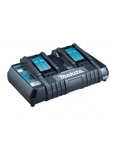 Chargeur double MAKITA 7.2V-18V DC18RD