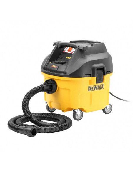 DEWALT DWV900L-QS - Aspirateur de chantier industriel DEWALT Classe L (EAU, POUSSIERES, GRAVATS)