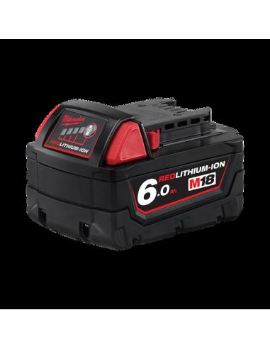 Batterie Milwaukee M18B6 18V 6Ah Li-Ion / 4932451244