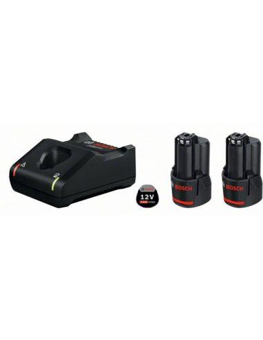 Pack Bosch 2xbatteries 12V 3Ah Li-ion...
