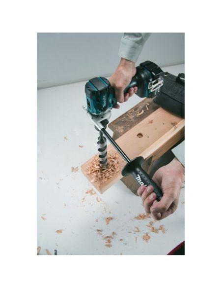 Perçage bois dur avec makita dhp481z perceuse/visseuse à percussion 18v sans charbon