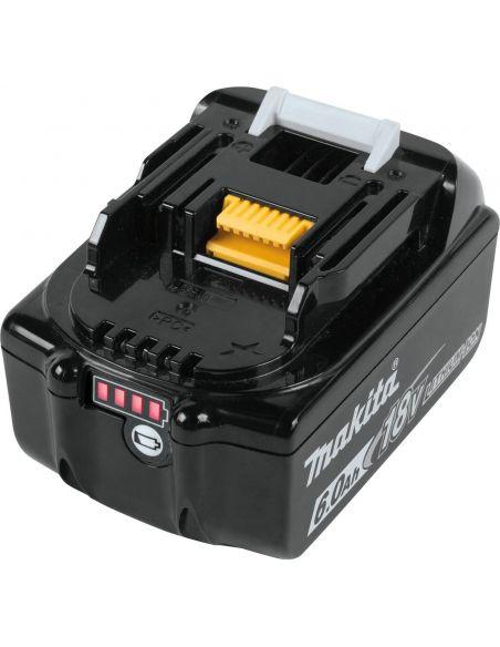 Batterie Makita 18V 6Ah Li-ion BL1860B makstar avec témoin de charge