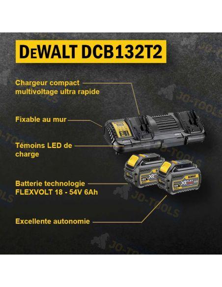infographie-pack-dewalt-18-54v-dcb132t2