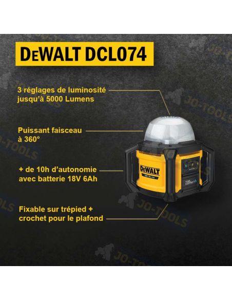 infographie-projecteur-de-chantier-dewalt-dcl074