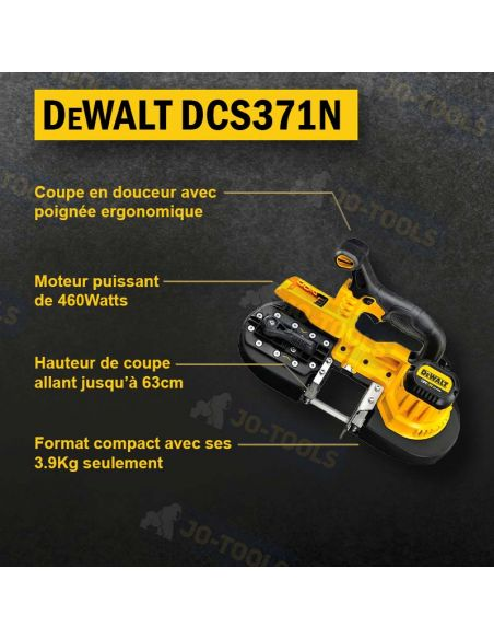infographie-scie-a-ruban-dewalt-dcs371n-xj