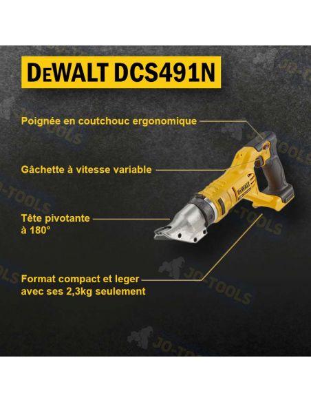 infographie-cisaille-a-tole-electrique-dewalt-dcs491n-xj