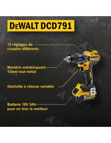 infographie-perceuse-dewalt-dcd791