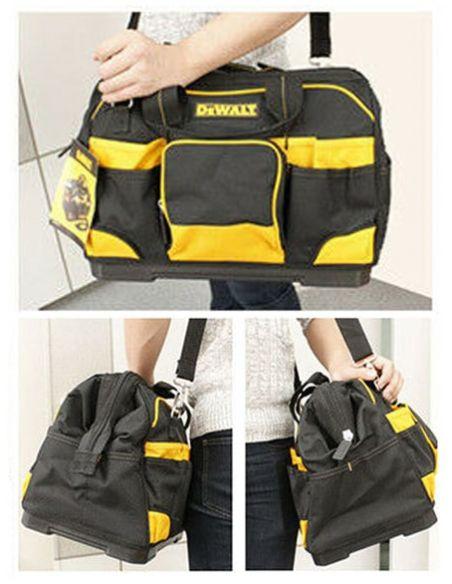 Cas d'utilisation du sac à outils DeWALT DWST74727-8