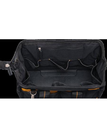 intérieur du sac à outils DeWALT