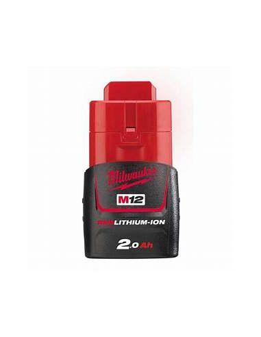 Batterie MILWAUKEE 12V 2AH Li-ion M12B2