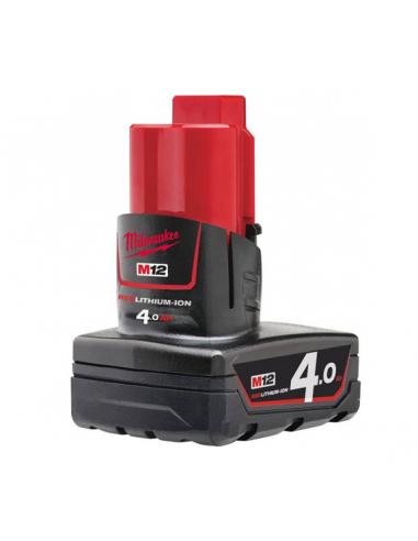 Batterie MILWAUKEE 12V 4AH Li-ion M12B4
