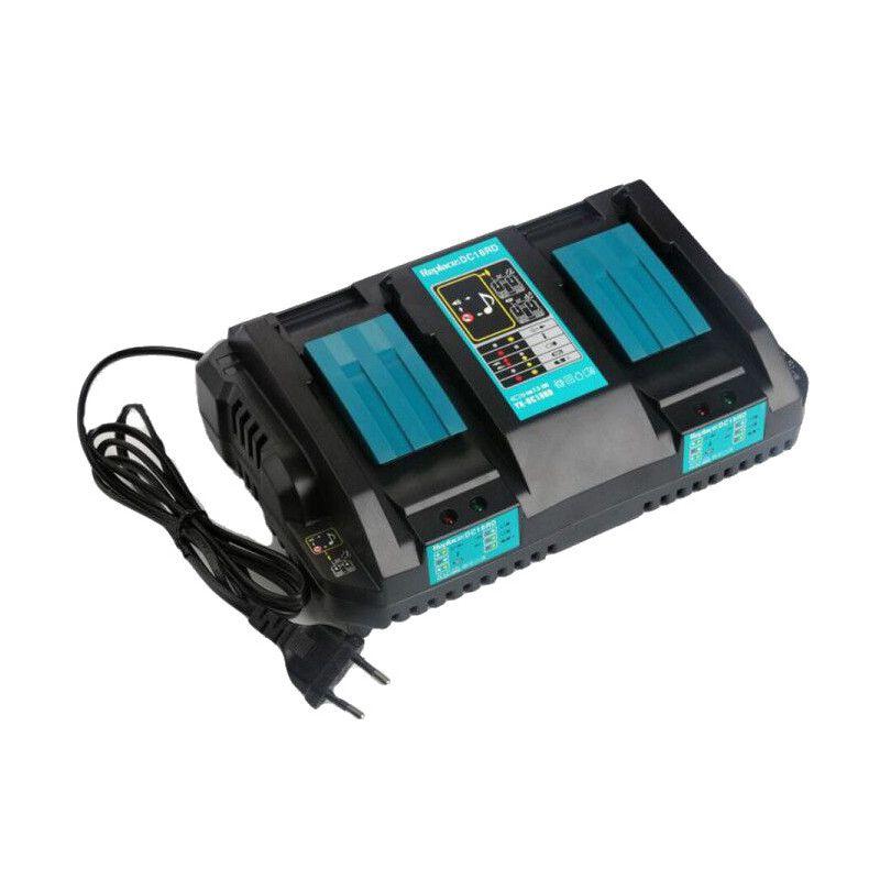 Chargeur double AKKU POWER GDC18RD...