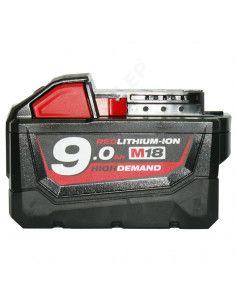 Batterie MILWAUKEE M18 18V 9AH Li-ion M18B9