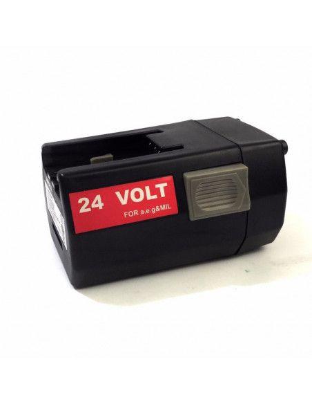 Batterie compatible AKKU POWER RB1026 pour MILWAUKEE 24V 3Ah Ni-Mh