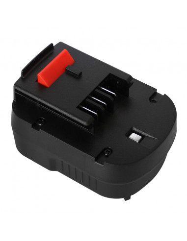 Batterie AKKU POWER RB375 pour BLACK&DECKER 12V 2Ah Ni-Mh type A12