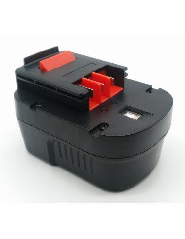 Batterie AKKU POWER RB385 pour BLACK&DECKER 14,4V 2Ah Ni-Mh type A14