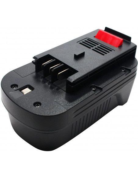 Batterie AKKU POWER RB395 pour BLACK&DECKER 18V 2Ah Ni-mh type A18