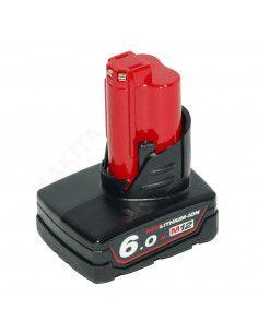 Batterie MILWAUKEE 12V 6AH M12 Li-ion M12B6