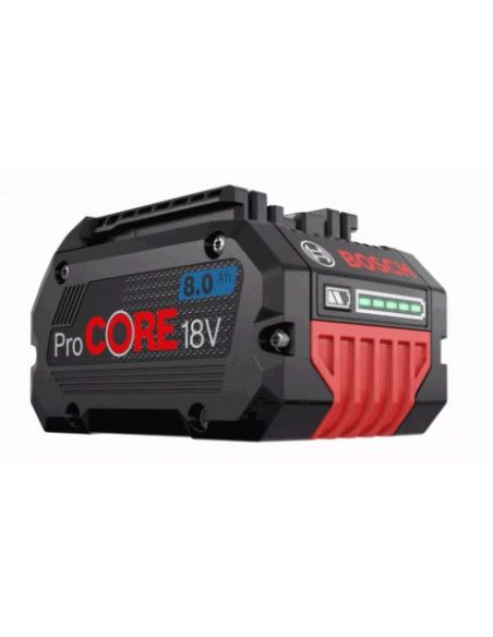 Batterie BOSCH ProCORE 18V 8Ah Li-ion 1600A016GK