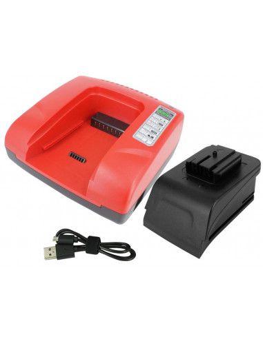 Chargeur Akku power pour batteries...