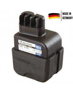 Batterie AKKU POWER P615 pour METABO 9.6V 2.AH NI-MH type ABE 9.6 2/RT