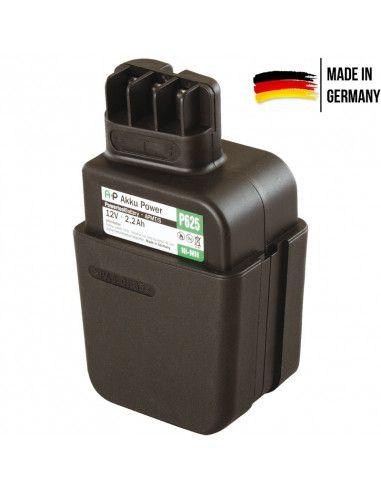 Batterie AKKU POWER P625 pour METABO 12V 2.AH NI-MH type 6.30071