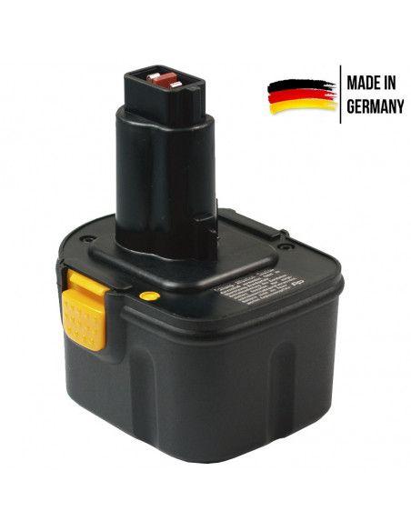 Batterie AKKU POWER P305 pour Dewalt 12V 2Ah Nimh type DE9071