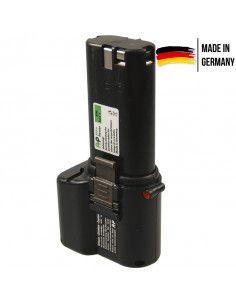 Batterie AKKU POWER P126 pour AEG/RYOBI 9,6V 3Ah Ni-Mh type P9.6/A13
