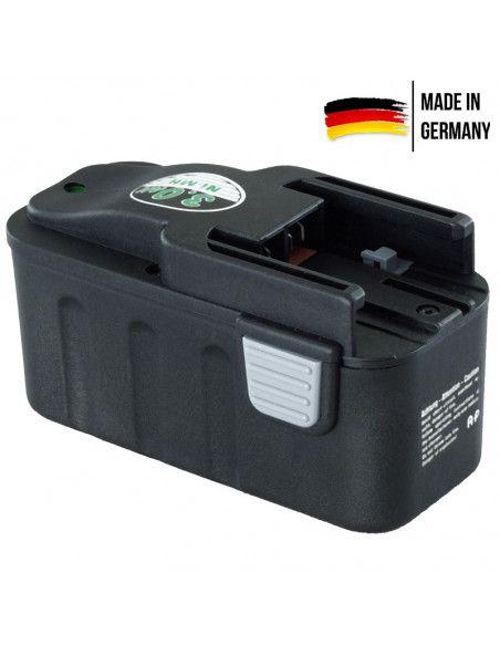 Batterie AKKU POWER P166 pour MILWAUKEE 12V 3Ah Ni-Mh
